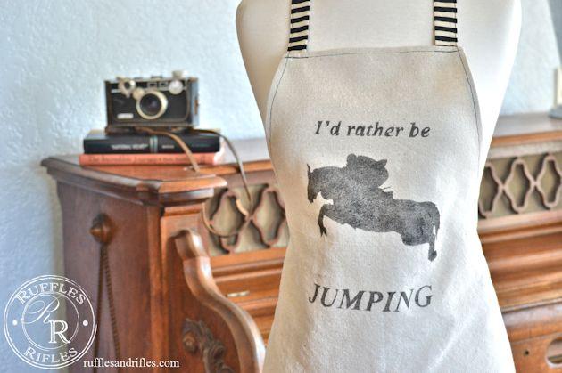 horse apron 1