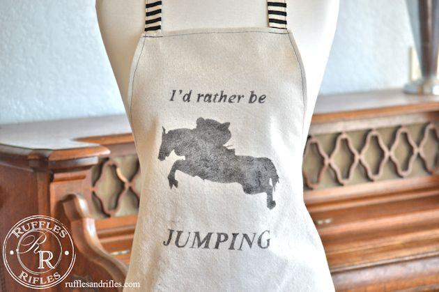 horse apron 2