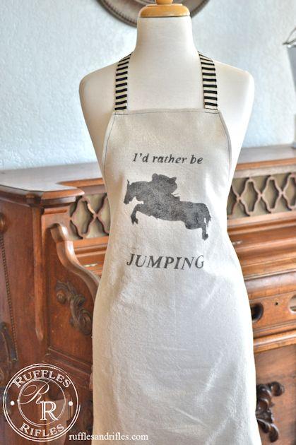 horse apron 3