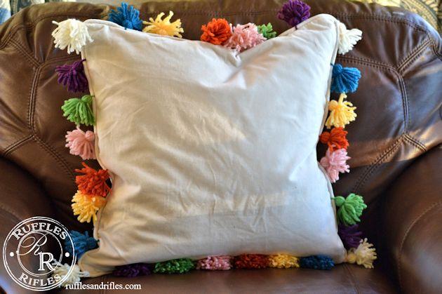 Anthro Pom-Pom Pillow 2