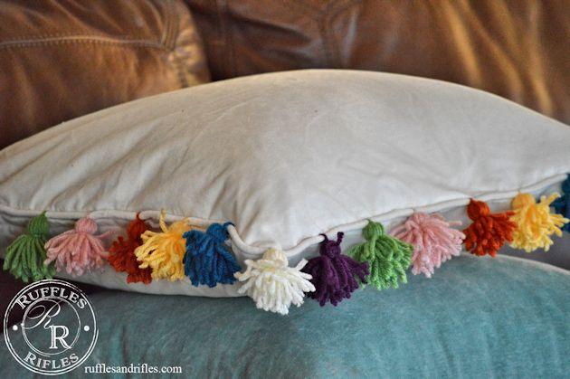 Anthro Pom-Pom Pillow 5