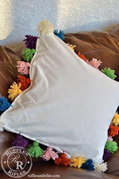 Anthro Pom-Pom Pillow 6