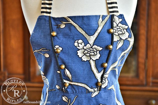 Tailored Apron 7