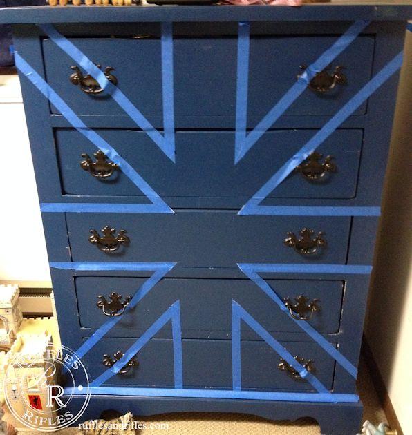 Union Jack Dresser 3