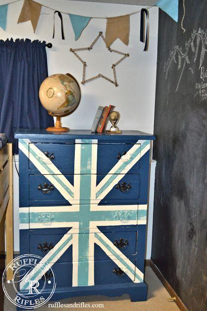 Union Jack Dresser 6