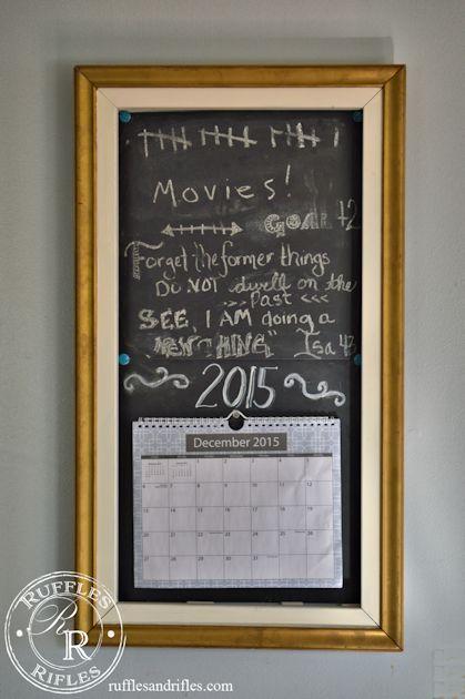 Calendar Chalkboard 1