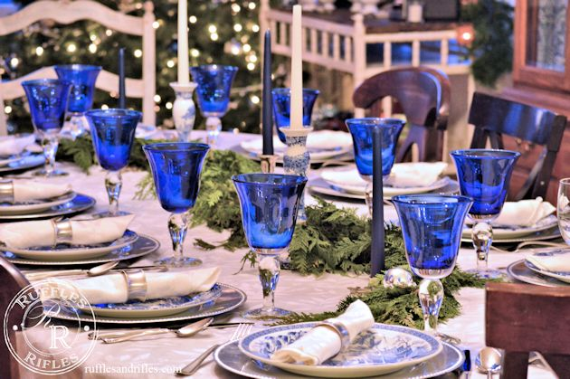 Christmas Tablescape 1