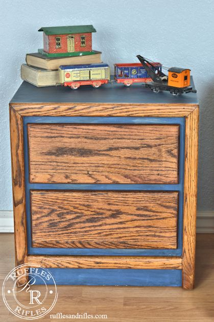 Oak Nightstands 3