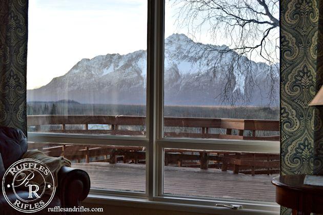 Alaskan Living Room View