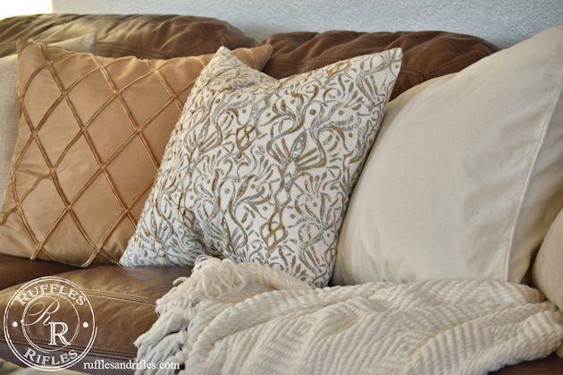 Beaded Throw Pillow 6