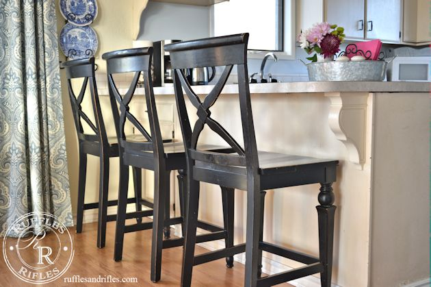 Black Bar Stools 3