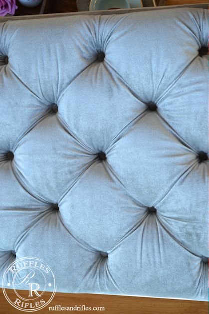 Small Tufted Ottoman 10