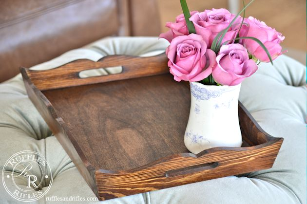 wooden tray 11