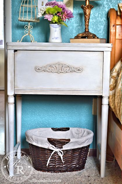 Sewing Cabinet Nightstand 3