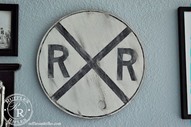 RR Crossing Sign 6