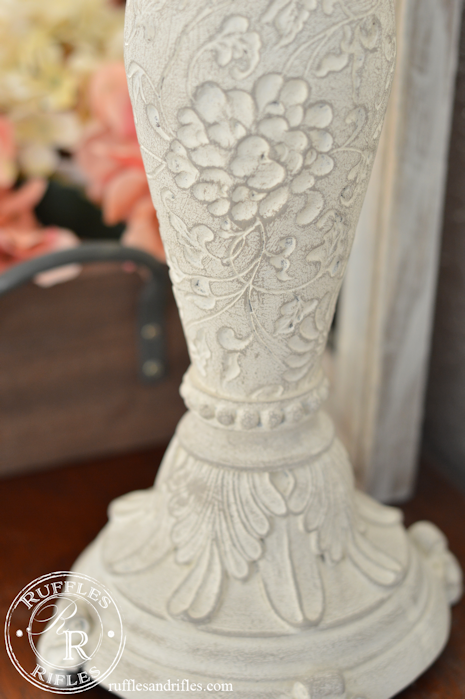 Candlesticks restored to French Country Decor