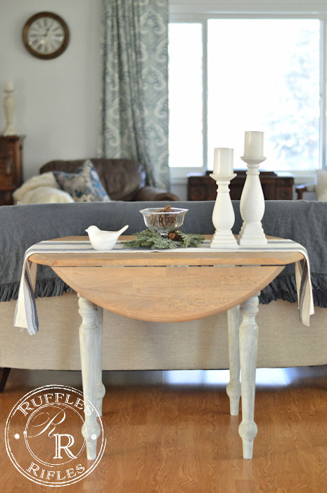 Farmhouse Round Table
