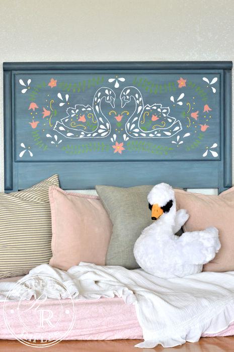 Swan Headboard