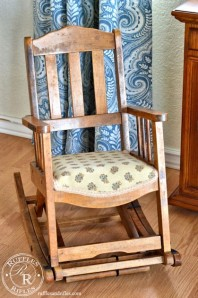 Furniture Reveal: Miniature Rocking Chair