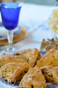 Pumpkin Scones and a New Camera Lens