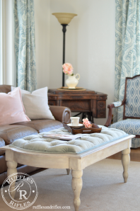 New Spring Accents | Blush and Blue