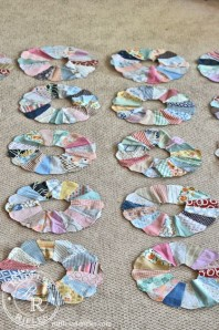 The Original Repurposers and a Dresden Plate Quilt