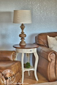 Adventures in Milk Paint and a Side Table