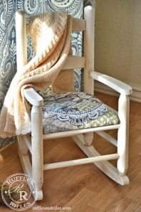 Mini Shabby Chic Rocking Chair
