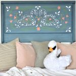 Scandinavian Inspired Swan Headboard