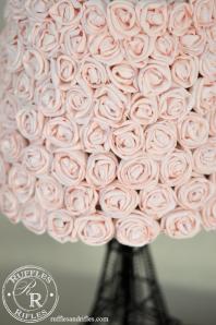 Eiffel Tower Rose Lamp