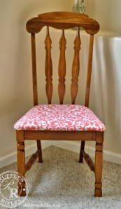 Furniture Reveal:  A Little Coral Chair