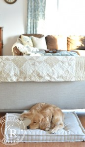 French Mattress Dog Bed