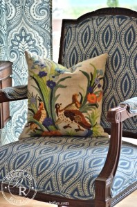 The Embroidered Throw-Pillow