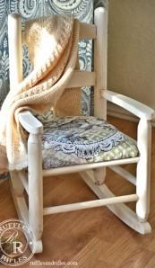 Mini Shabby Chic Rocking Chair